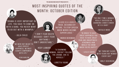Most Inspiring Quotes of the Month: October Edition