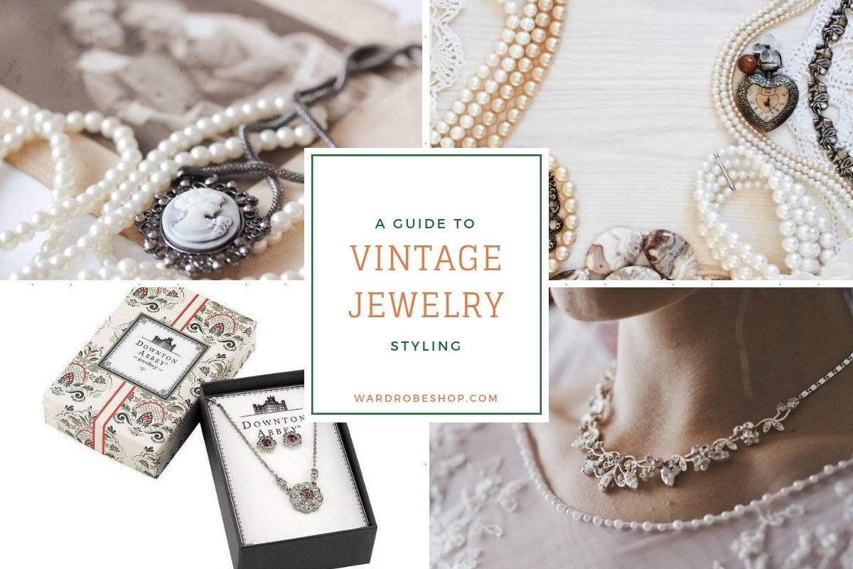 vintage jewelry styling