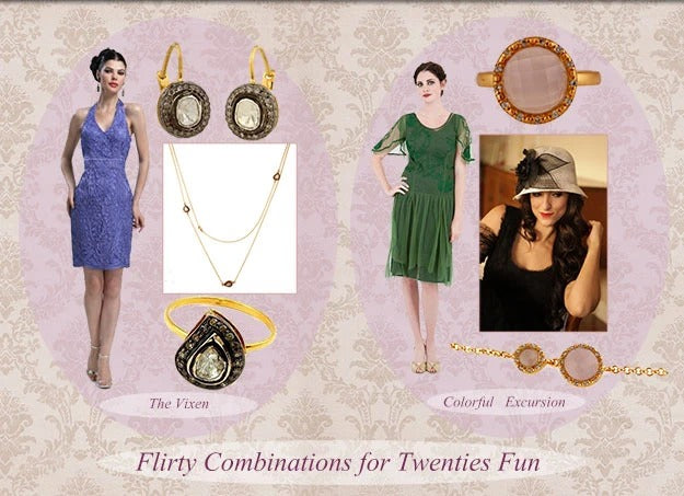 1920s Flapper Outfits