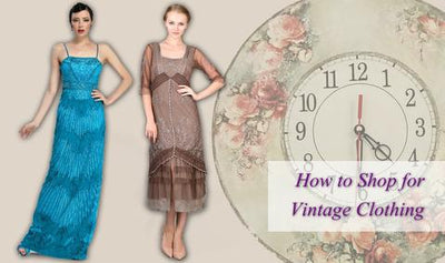 How to Shop for Vintage Clothing
