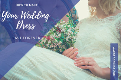 How to Make Your Wedding Dress Last Forever