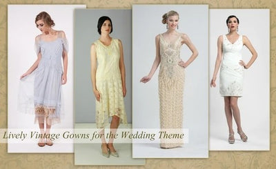 What to Wear for Vintage Weddings