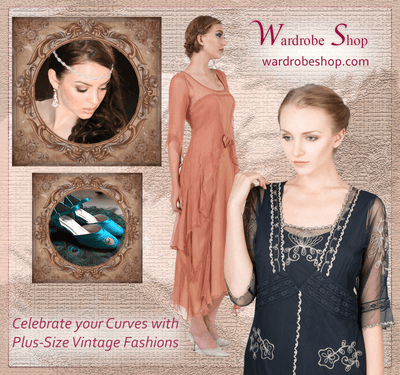 Celebrate your Curves with Plus-Size Vintage Fashions