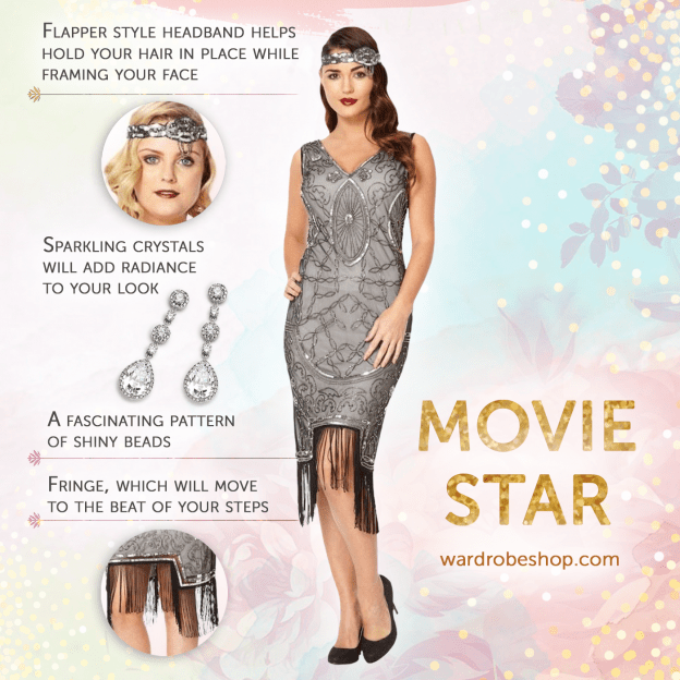 4 Easy steps to create an Old Hollywood 1920's Movie Star Look