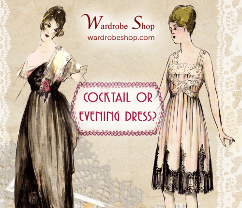When should you be wearing a cocktail or evening dress?