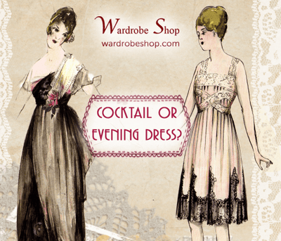Cocktail or Evening dress?