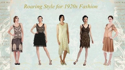 1920s Flapper Fashion Dresses