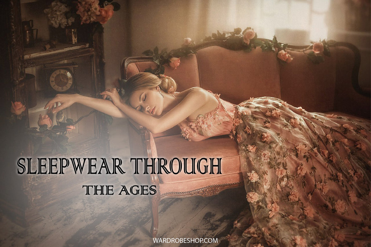 Sleepwear Through the Ages Cover