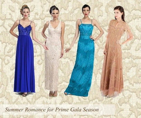 Vintage Summer Gowns