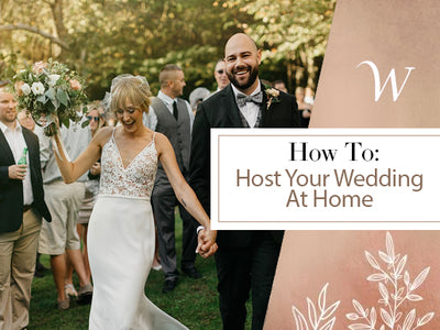 Host Your Wedding at Your Home
