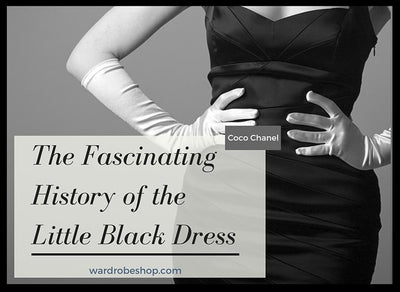 The Fascinating History of the Little Black Dress