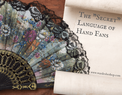 "The ""Secret"" Language of Hand Fans"