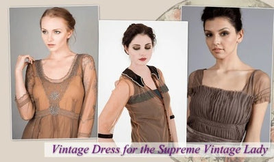 Authentic Vintage Dress for Fall 2014
