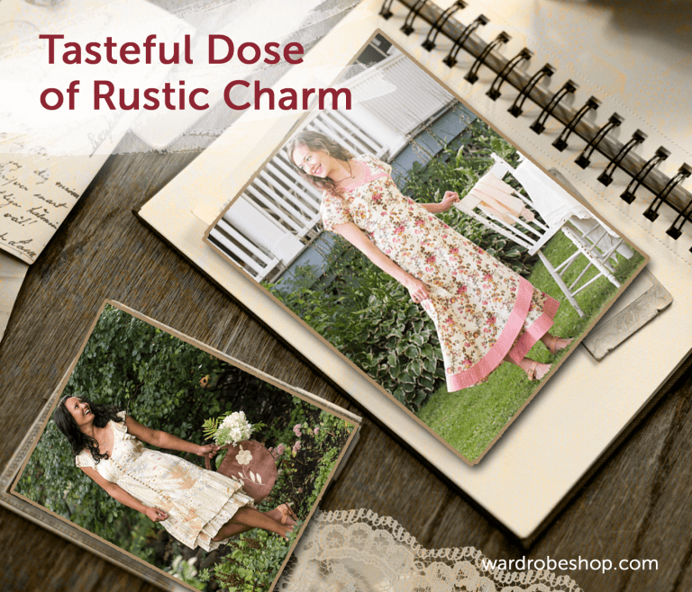 How to Spice Up Your Wardrobe with Romantic Rustic Dresses