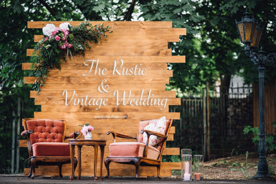 Wedding Ideas: The Rustic and Vintage Wedding