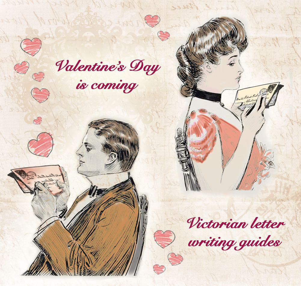 Victorian Letter Writing Guides: How to Write a Romantic Love Letter