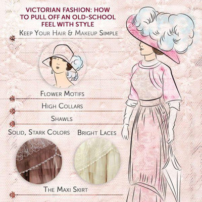Victorian Fashion: How to Pull Off an Old-school Feel with Style