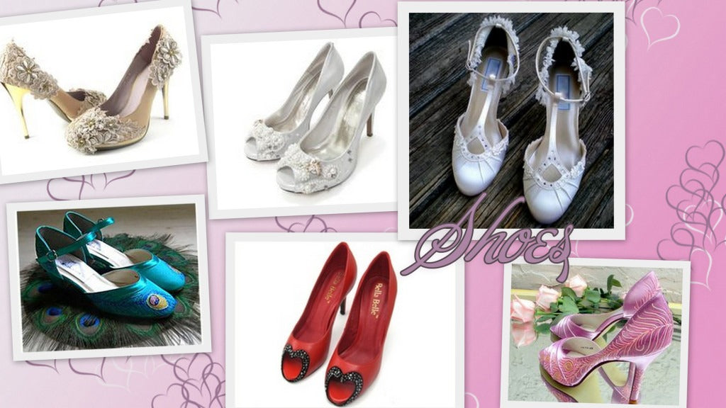 The shoes for the perfect bride 2014