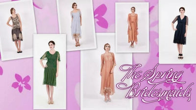 The best Dresses for the spring bridesmaids