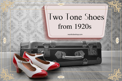 Two Tone Shoes from 1920's