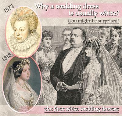 Why a wedding dress is usually white?