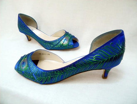 flapper style wedding shoes called Veronica