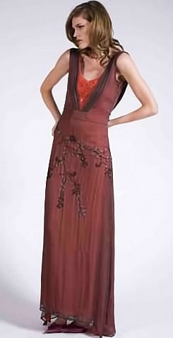 1920's style evening dresses