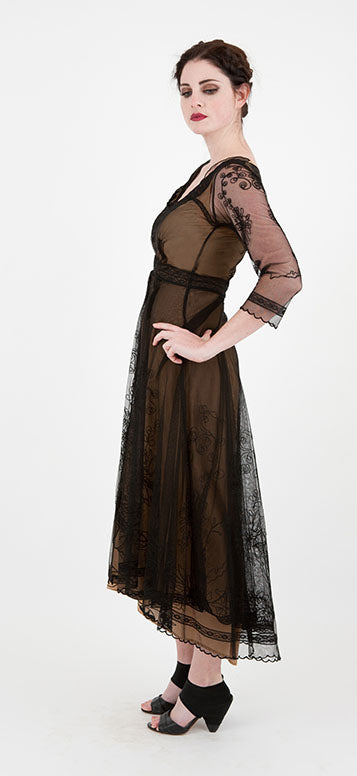 Downton Abbey style evening gown