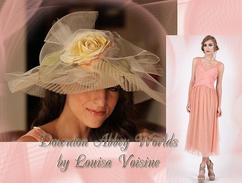 Lady Anna collection by Louisa Voisine Millinery