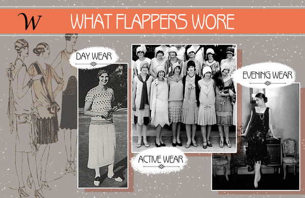 what 1920s flappers wore