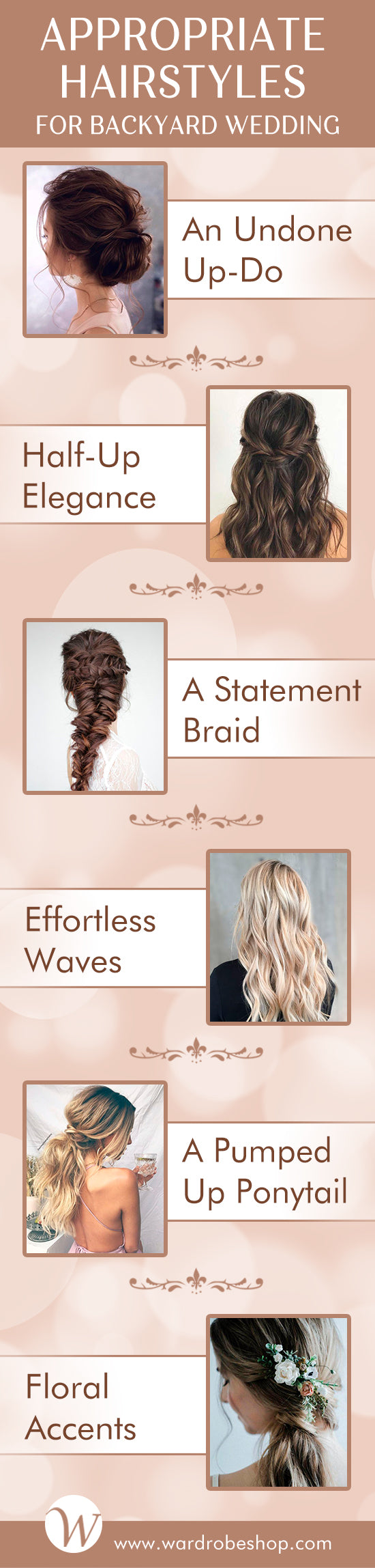 Backyard Wedding Hairstyles