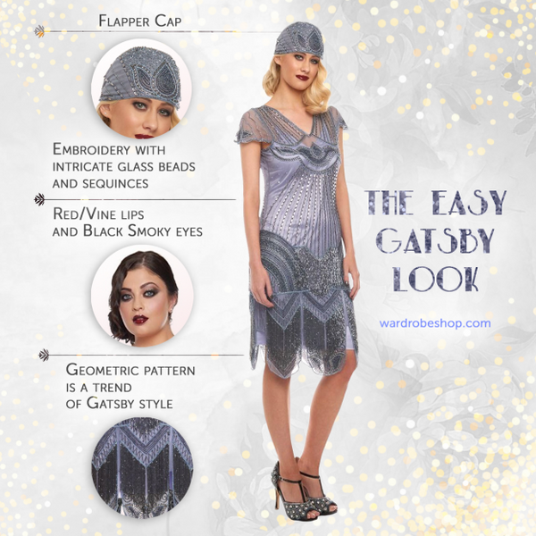 The easy Gatsby look