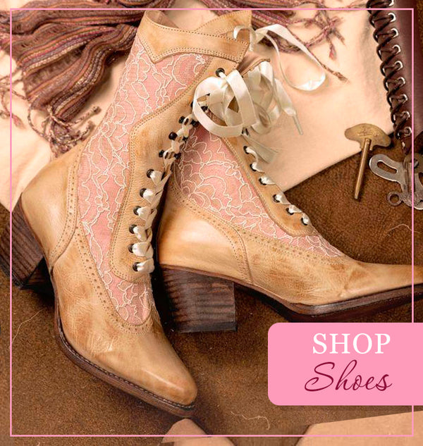 Victorian Styles Boots & Shoes