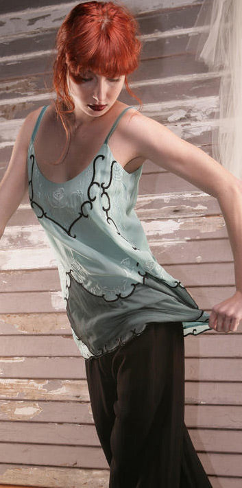 vintage style top in mint