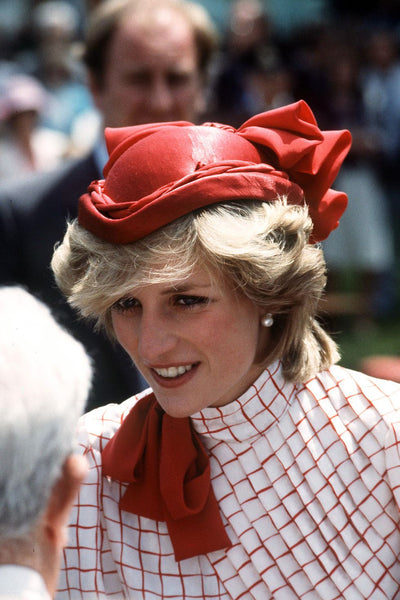Princess Diana Lady in Red