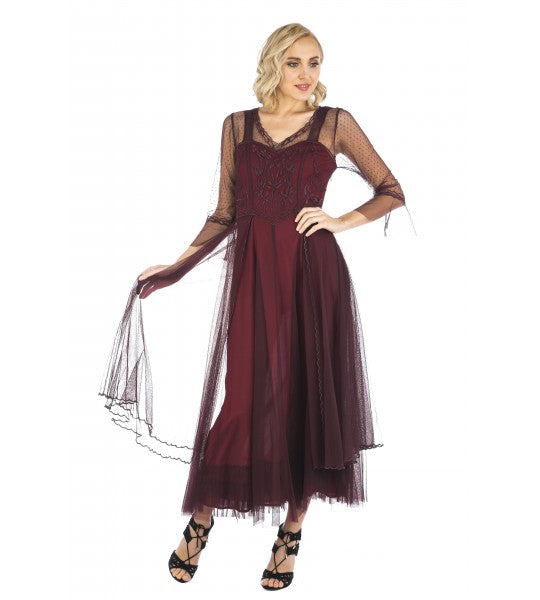 vivian-vintage-style-gown-in-ruby-by-nataya