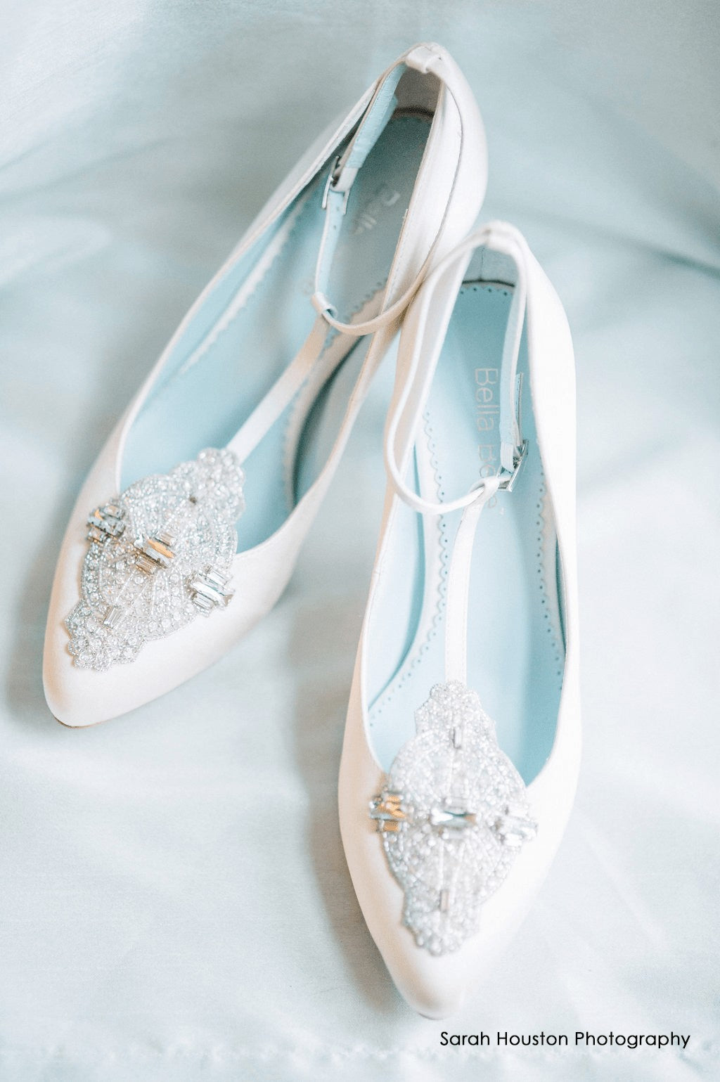 vintage 20s wedding dress and Bridal Shoes in White