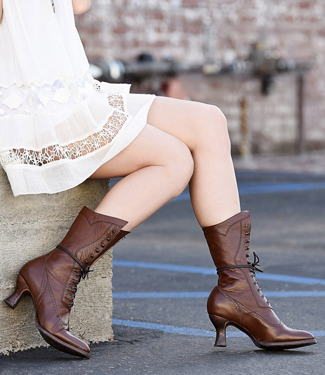 Victorian Boots & Shoes – Granny Boots & Shoes  $255.00 AT vintagedancer.com