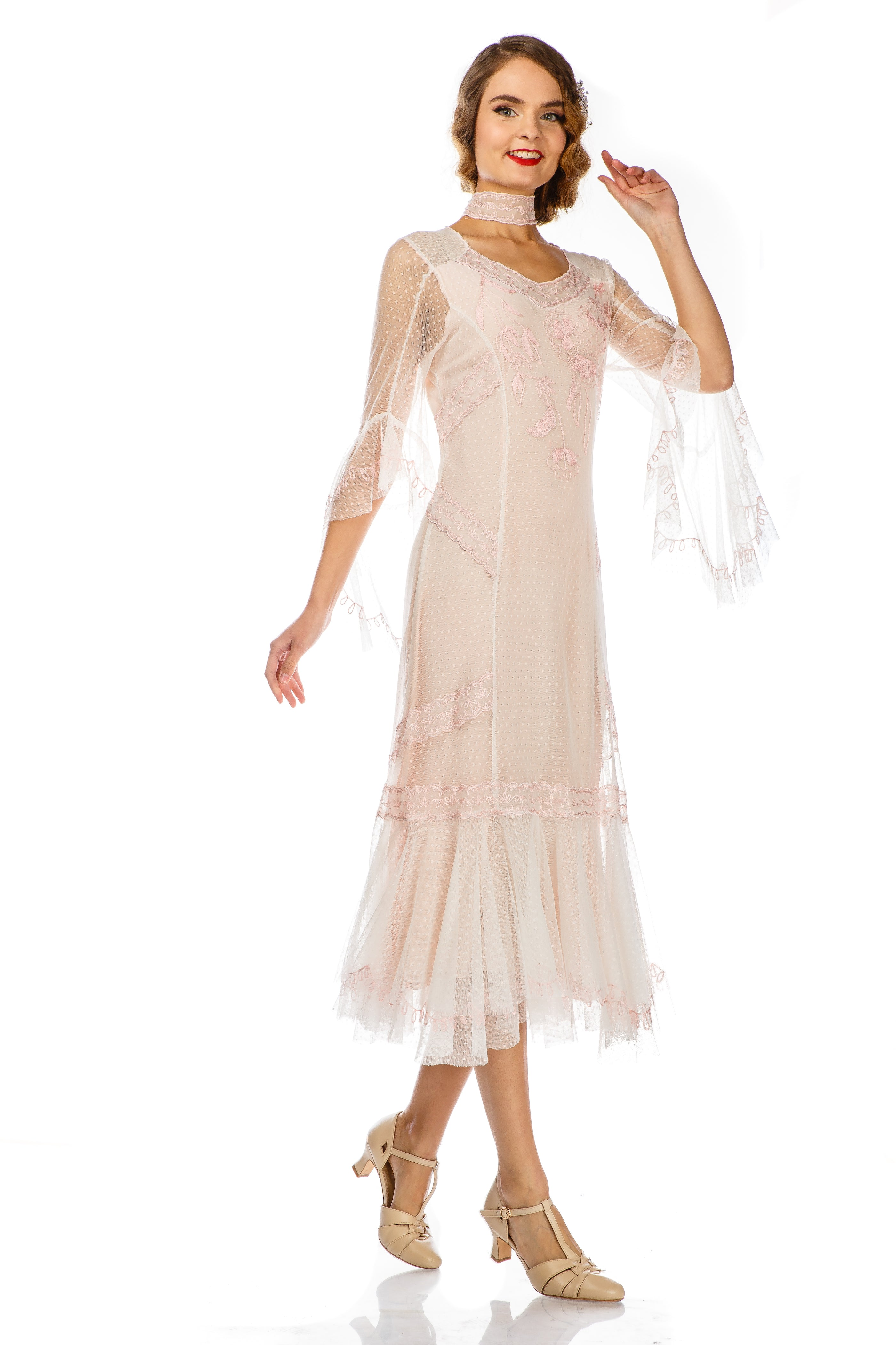 1920s Day Dresses History – Pictures of 20s Fashion  $275.00 AT vintagedancer.com