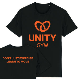 Unity Gym T-Shirt Black - Don't Just Exercise