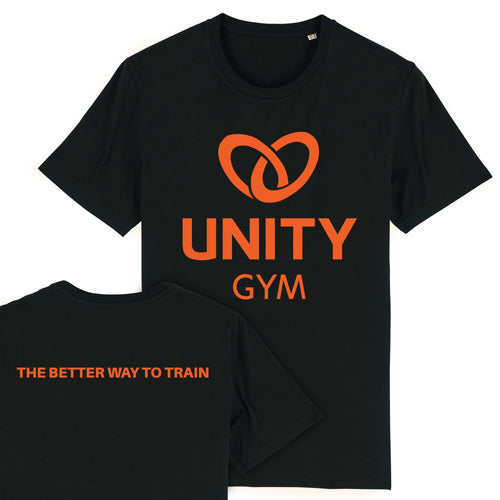 Unity Gym T-Shirt Black - Better Way To Train