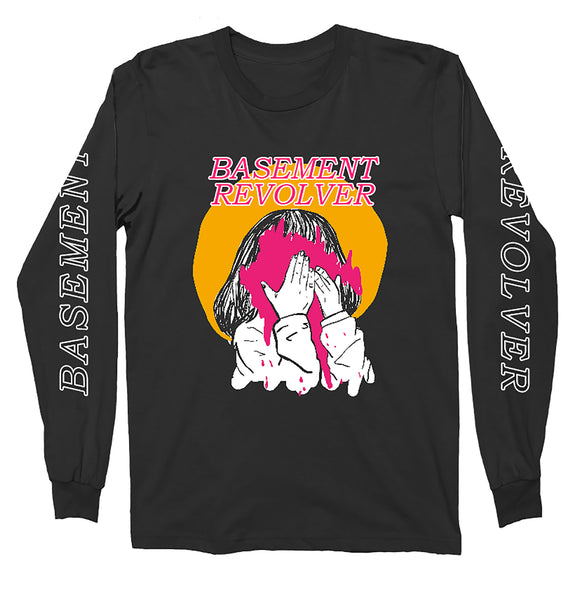 Basement Revolver - Heavy Eyes Long Sleeve T-shirt