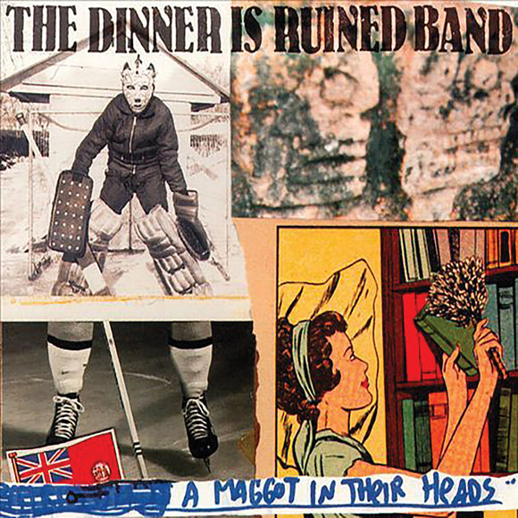 The Dinner Is Ruined – A Maggot In Their Heads CD