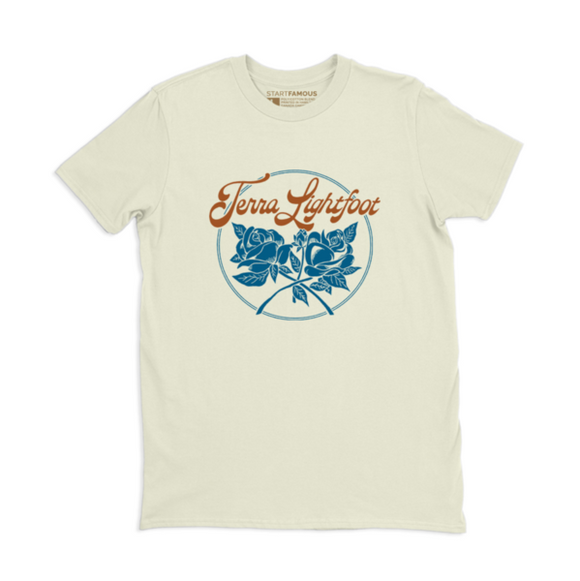 Terra Lightfoot - Blue Roses T-Shirt