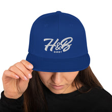 Load image into Gallery viewer, H&B Rugby Snapback Hat