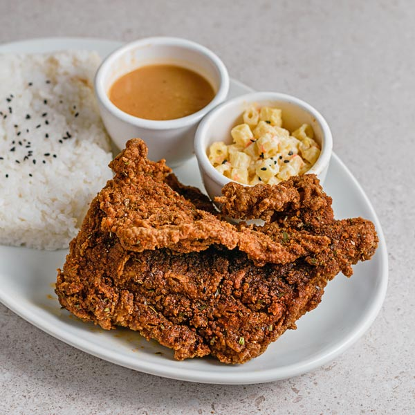 BBX Fried Chicken Plate