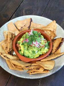 Guacamole and Housemade Corn Chips