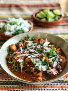 "Frijole con Puerco (""Pork"" and Bean Stew) - Serves 1-2"