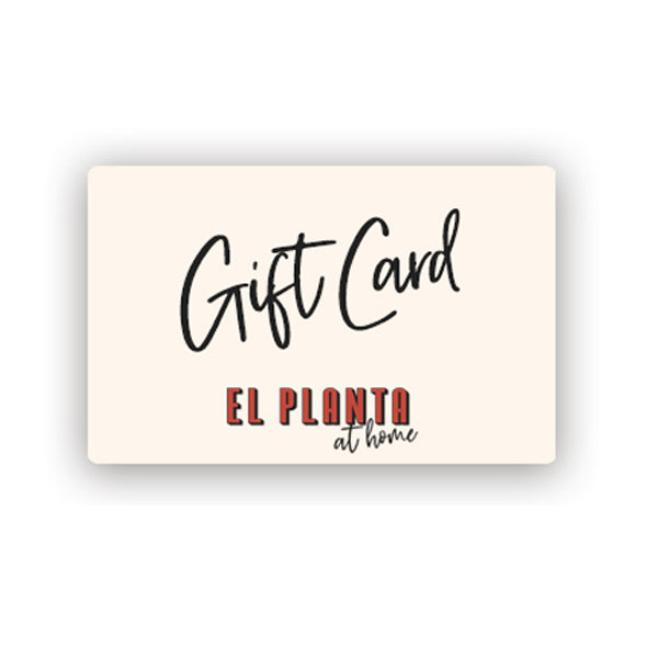 El Planta at Home Gift Card