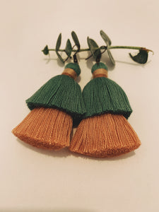 Double Tassel Earrings  - Pikay Collection